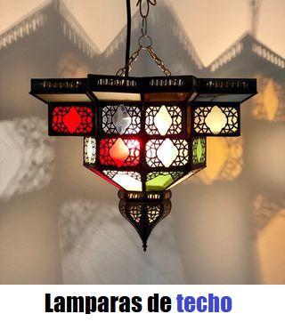 lamparas-marroquies-techo