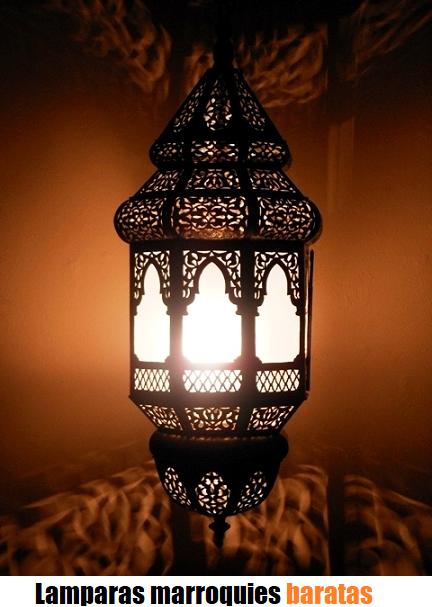 lamparas marroquies online baratas