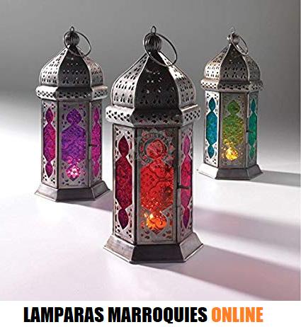 lamparas marroquies online